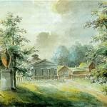Målning av Hillerström.